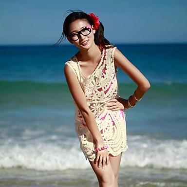 Új női bikini blúz Hollow Külső Loose Horgolt csipke blúz pulóver mellény  ruha ruházat 1519381 2019 –  30.52 ab87a335bc