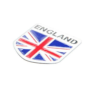 5 5cm Bandeira Inglaterra Padrão Inglês Emblema De Alumínio Car