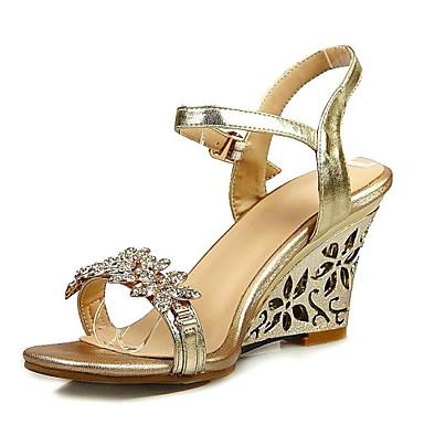 Habillé Femme Chaussures Décontracté amp; Evénement Or Soirée f54qAd4pn