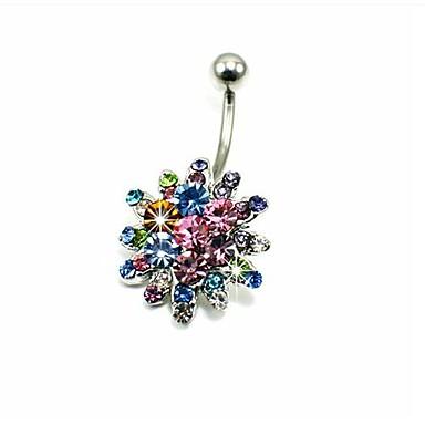 preiswerte Nabelringe-Damen Körperschmuck Nabelring / Bauchnabelpiercing Kristall damas / Luxus Krystall / Diamantimitate Modeschmuck Für Alltag / Normal 1.6*0.6*1.0 cm Sommer