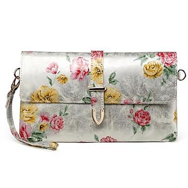 9eee1e0e7d Γνήσιο δέρμα μόδα Κήπος Λουλούδια Γυναικείες Τσάντες Τσάντα   Crossbody  τσάντα Ημέρα συμπλέκτη 1480876 2019 –  17.99