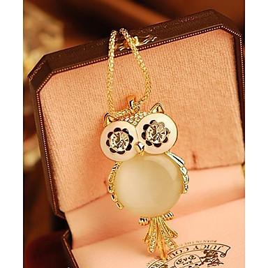 povoljno Modne ogrlice-Žene Ogrlice s privjeskom Sova Pahulja dame Moda Legura zaslon u boji Ogrlice Jewelry Za Special Occasion Rođendan Dar