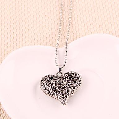 0c223f465ffa Mujer Collares con colgantes - Corazón