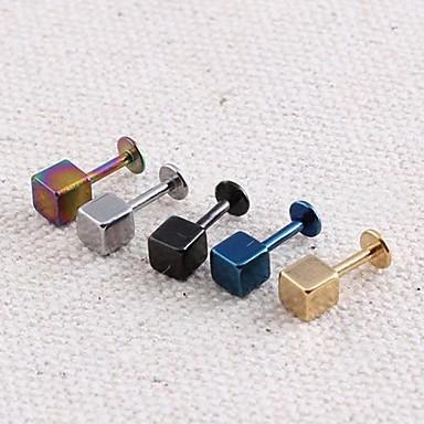 levne Pánské šperky-Pánské Peckové náušnice Haç Nerez Náušnice Šperky Pro Svatební Párty Denní Ležérní Sport