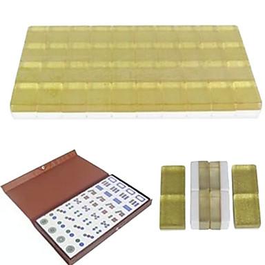 preiswerte Chess Games-Mini Melamin Kristall Mahjong Reisen Spielzeug