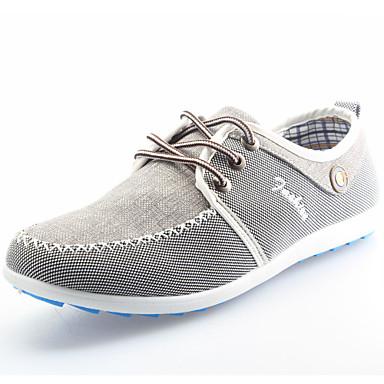Chaussures chaussures de toile tendon d'hommes les chaussures de couleur de sort final, 43