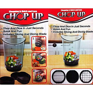 Superbe Chop Up Cut In Cup Slicer Dicer Fruit Vegetables Manual Food Processor  1611025 2018 U2013 $7.99