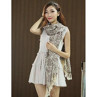727426b51202 kvinders fasionable joker varm kvast zebra trykt tørklæder 1657061 2019 –   18.99