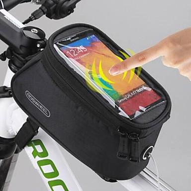 Roswheel Bike Frame Bag Phone Bag 5 5 Inch For Iphone 6 6 Plus