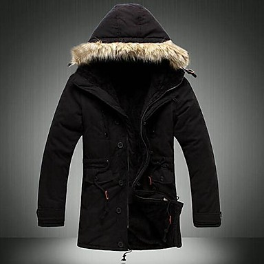 4bf339c40b Férfi divat Szabadidő Sport kapucnis vastag, hosszú ujjú kabát 1590655 2019  – $75.99