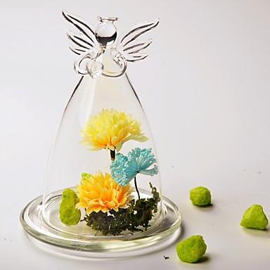 voordelige Feestbenodigdheden-Materiaal / Glas Tafeldecoratie - Niet-gepersonaliseerd Anderen / Glazen stolp / Tafels Bloem Lente / Zomer / Alle seizoenen