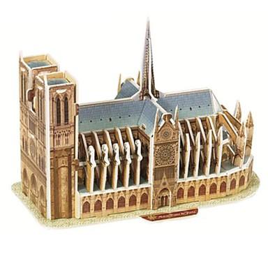 voordelige 3D-puzzels-3D-puzzels Houten puzzels Bouwplaat Beroemd gebouw Papier Jongens Meisjes Speeltjes Geschenk