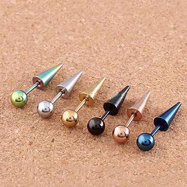 levne Dámské šperky-Dámské Tělové ozdoby Piercing do ucha Nerez Kostýmní šperky Pro Denní / Ležérní 1.2*0.2*0.1 cm Letní