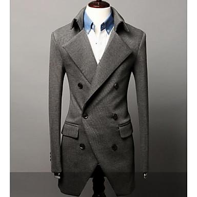 173276bf0f Férfi alkalmi kabát hosszú kétsoros öltöny 1637738 2019 – $51.69