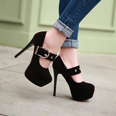 Zapatos para vestidos de noche en invierno
