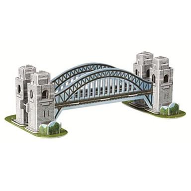 levne 3D puzzle-3d Harbour Bridge modelu magie hádanky pro děti i dospělé výukové pomůcky (33pcs)