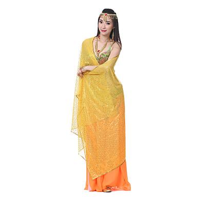 povoljno Odjeća i obuća za ples-Trbušni ples Rekviziti Žene Seksi blagdanski kostimi Til Veil