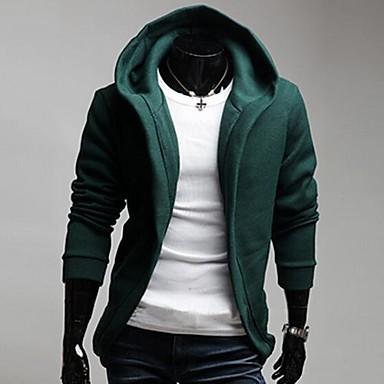 a5d7d7a8fb Férfi divat Szabadidő Sport kapucnis hosszú ujjú kabát 1590697 2019 – $36.29