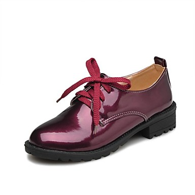 06e36f6d6bd dámské módní nízký podpatek šněrovací Oxford šaty boty (více barev 1648874  2019 –  19.99