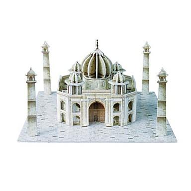 levne 3D puzzle-3D puzzle Taj Mahal indii vzor pro děti i dospělé výukové pomůcky (36ks)