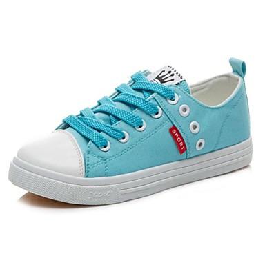 fbb0a3e75e vászon női lapos sarok divat cipők csipke cipő (több színben) 1651787 2019  – $24.99