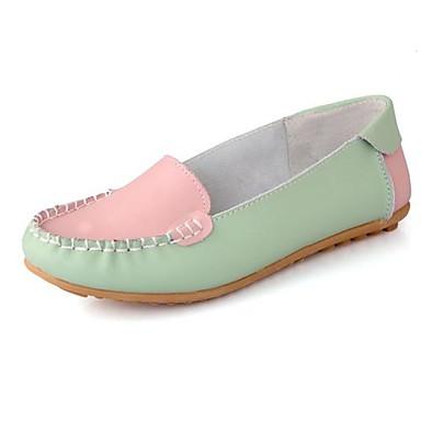 decca0815bd γυναικών παπούτσια μοκασίνι επίπεδη δερμάτινο τακούνι loafers slip-on  παπούτσια περισσότερα χρώματα 1757392 2019 – $34.99