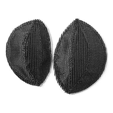 preiswerte Haarpflege-Pads Kopf Schaum und zerzausten Haaren Tools Prinzessin Haar bumpits