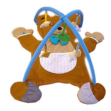 preiswerte Babyspielzeug-Babys weiche Krabbelspielmatte Bär Teppich