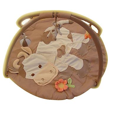 preiswerte Babyspielzeug-weiche Krabbelspielmatte nette Kuh Teppich Kinder