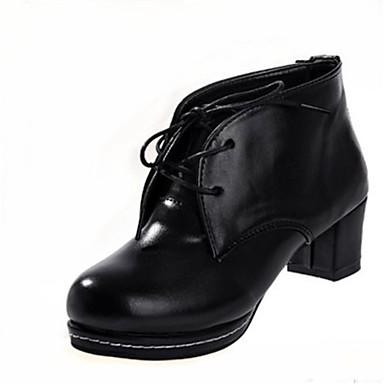 3633944a607 dámská obuv kolo toe robustní podpatku podpatky šněrovací boty více barev k  dispozici 1856168 2019 –  32.99