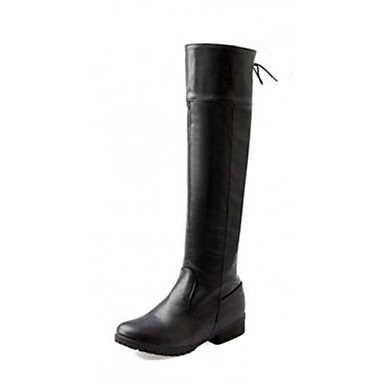 Women S Shoes Qq Fashion Boots Low Heel Knee High Boots More Colors