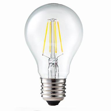 e26e27 led filament bulbs g60 4 leds cob dimmable decorative warm white 400lm 3200k ac 220240v u2013 467