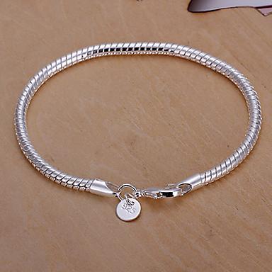 9d346360e [$19.93] élénk női kígyó csont ezüst lemez karkötő klasszikus női stílusban