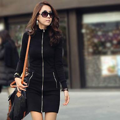 ad85b9113c GR W Women s Sheath Zipper Korea Cardigan Long Sleeve Bodycon Dress 1880022  2019 –  64.95