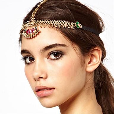 Vintage Retro Bohemian Gem Chain Ribbon Hair Accessories Headbands 1752984  2019 –  8.99 aa550ccaff4