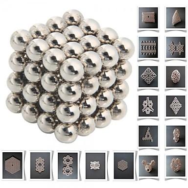 64 pcs Magnetleksaker Byggklossar Superstarka neodymmagneter Neodymmagnet Metall Barn / Vuxna Pojkar Flickor Leksaker Present