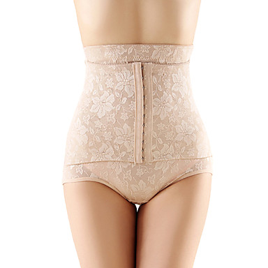 Body Shaper Breathable High Waist Slim Hips Lift Up Abdomen Contorl Briefs Pants Skin