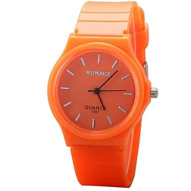 172d153615f Dámské Módní hodinky Náramkové hodinky Křemenný PU Kapela Černá Bílá Modrá  Červená Orange Zelená žlutá RoseRůžová Červená Zelená 1731309 2018 –  7.99