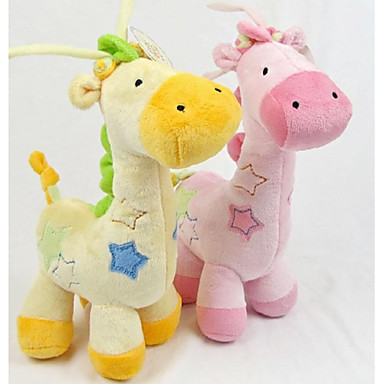 cheap Baby Toys-Stuffed Animal Baby Music Toy Giraffe Cotton Adults' Toy Gift