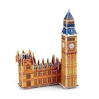 levne 3D puzzle-Puzzle 3D puzzle Stavební bloky DIY hračky slavné stavby Papír Modelování