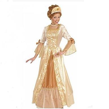 ädla drottning retrostil gyllene polyester kvinnors halloween dräkt 1878554  2019 –  99.99 0396a448e1514