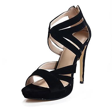 Pour Chaussures Aiguille Talon Femmes Bc Ouvert Flocage Bout w6Tqd6