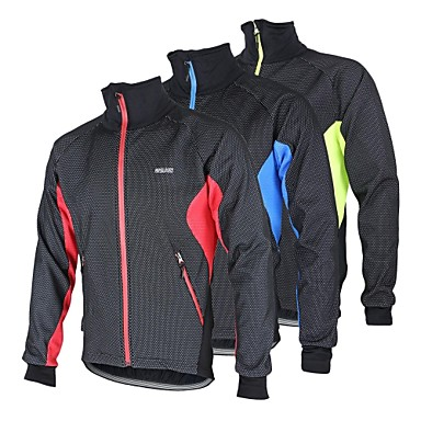 Arsuxeo Cycling Jacket Men's Bike Jacket Fleece Jacket Top Thermal ...