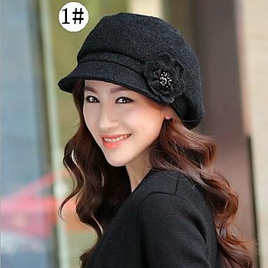 dba5c97e96b4d novo chapéu de lã de inverno moda feminina de 1964749 2019 por  9.99