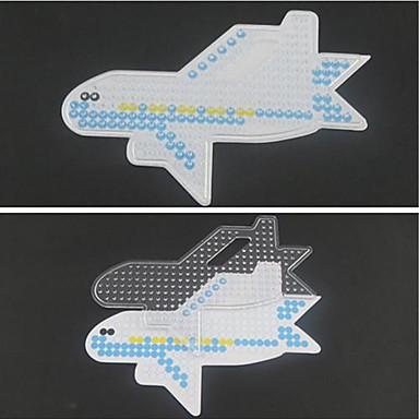 preiswerte DIY Spielzeug-Schmelzperlen Flugzeug 5mm Vorlage Kunststoff Spielzeuge Geschenk