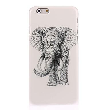 povoljno iPhone maske-Θήκη Za Apple iPhone 7 Plus / iPhone 7 / iPhone 6s Plus Uzorak Stražnja maska Životinja / Slon Tvrdo PC