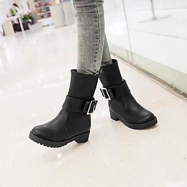 γυναικεία παπούτσια toe γύρο μποτάκια χαμηλό τακούνι περισσότερα χρώματα  διαθέσιμα 2030504 2019 –  32.99 d370b10ff87