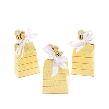 levne Party doplňky-Výročí Narozeniny Dárky pro novorozeně Party laskavosti a dárky - Krabice na výslužky Lepenkový papír Pohádkový motiv