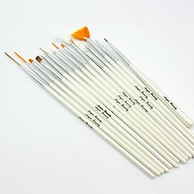 voordelige Nagelgereedschap & Apparatuur-Synthetisch haar / Hout Nail Art Tool Nail acrylborstel Nagelborstels Voor Acrylkwast Nagel kunst Manicure pedicure Klassiek Dagelijks / Borstels