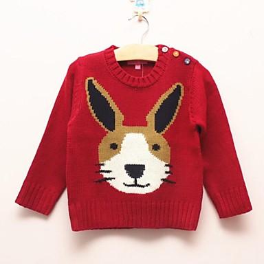 [$46.79] joker moda pequeño patrón de conejo suéter tejido de punto para niños